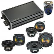 Compatible with BMW 3 Series 1999-2001 Factory Speaker Replacement Harmony Speakers & CXA360....