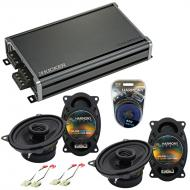 Compatible with Chevy CK Truck (Full Size) 88-94 Speaker Replacement Harmony (2)R46 & CXA360....