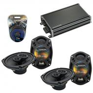 Compatible with Dodge Caliber 2007-2012 Factory Speaker Replacement Harmony (2) R69 & CXA360....