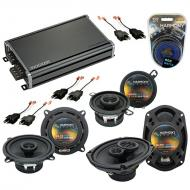 Compatible with Dodge Lancer 1986-1989 Factory Speaker Replacement Harmony Speakers & CXA360....