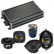 Compatible with Ford Bronco II 1983-1988 Factory Speaker Replacement Harmony R4 R68 & CXA360....