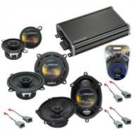 Compatible with Ford Mustang 1982-1985 Factory Speaker Replacement Harmony Speakers & CXA360....