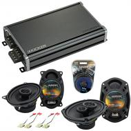 Compatible with Chevy Corvette 1978-1983 OEM Speaker Replacement Harmony R46 R69 & CXA360.4 Amp