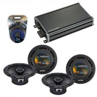 Compatible with Toyota Celica 1994-1999 Factory Speaker Replacement Harmony R65 & CXA360.4 Amp