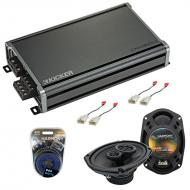 Compatible with Toyota FJ Cruiser 2007-2014 Factory Speaker Replacement Harmony R69 & CXA360....