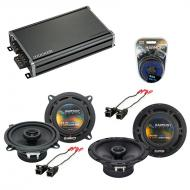 Compatible with Chevy Tahoe 2007-2014 Factory Speaker Replacement Harmony R65 R5 & CXA360.4 Amp