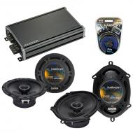 Compatible with Toyota Sienna 2004-2010 Factory Speaker Replacement Harmony R68 R65 & CXA360....