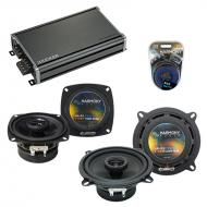 Compatible with Audi 100/200 Series 1989-1995 OEM Speaker Replacement Harmony R4 R5 & CXA360....