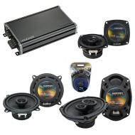 Compatible with Cadillac DeVille 1985-1987 OEM Speaker Replacement Harmony Speakers & CXA360....