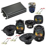 Compatible with Cadillac Seville 1984-1991 OEM Speaker Replacement Harmony Speakers & CXA360....