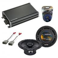 Compatible with Honda S2000 2000-2009 OEM Speaker Replacement Harmony R65 & CXA360.4 Amplifier