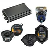 Compatible with Lincoln Mark VIII 96-98 OEM Speaker Replacement Harmony Replacement & CXA360....