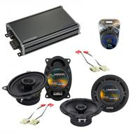 Compatible with Chevy S-10 Blazer 1990-1994 OEM Speaker Replacement Harmony R46 R65 & CXA360....