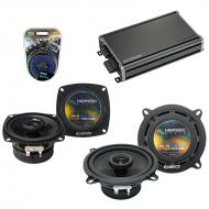 Compatible with Mercedes 350 Series 90-96 OEM Speaker Replacement Harmony R4 R5 & CXA360.4 Amp