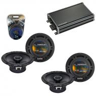 Compatible with Mercedes SLK-230/ 320 98-04 OEM Speaker Replacement Harmony (2) R65 & CXA360....