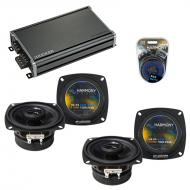 Compatible with Chevy Sprint: ER/Turbo 85-88 OEM Speaker Replacement Harmony (2) R4 & CXA360....