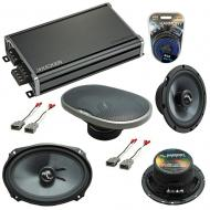 Compatible with Acura Legend 1990-1996 Factory Speakers Replacement Harmony C65 C69 & CXA360.4