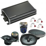 Compatible with Chevy Camaro 1982-1992 Factory Speakers Replacement Harmony C46 C69 & CXA360.4