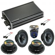 Compatible with Chevy Camaro 1993-2002 Factory Speakers Replacement Harmony (2) C65 & CXA360.4