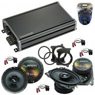 Compatible with Chevy S-10 Truck 1994-2001 OEM Speakers Replacement Harmony C46 C65 & CXA360.4