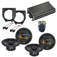 Compatible with Chevy Van Express 2003-2007 OEM Speaker Replacement Harmony (2) R65 & CXA360....