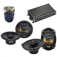 Compatible with Nissan Murano 2003-2007 OEM Speaker Replacement Harmony R65 R69 & CXA360.4 Amp