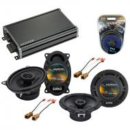 Compatible with Nissan NX 1991-1993 Factory Speaker Replacement Harmony R46 R65 & CXA360.4 Amp