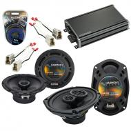 Compatible with Nissan Stanza 1987-1989 OEM Speaker Replacement Harmony R65 R69 & CXA360.4 Amp