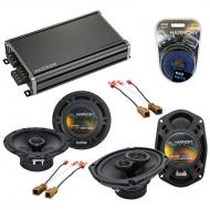 Compatible with Nissan Xterra 2009-2014 OEM Speaker Replacement Harmony R65 R69 & CXA360.4 Amp