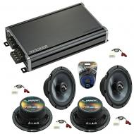 Compatible with Scion xB 2004-2015 Factory Speakers Replacement Harmony (2) C65 & CXA360.4