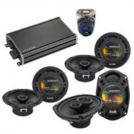 Compatible with Acura RDX 2007-2016 Factory Speaker Replacement Harmony R65 R69 & CXA360.4 Amp