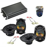 Compatible with Buick Park Avenue 88-94 OEM Speaker Replacement Harmony R46 R69 & CXA360.4 Amp