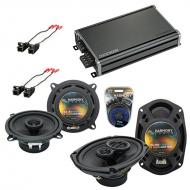 Compatible with Buick Park Avenue 95-96 OEM Speaker Replacement Harmony R46 R69 & CXA360.4 Amp
