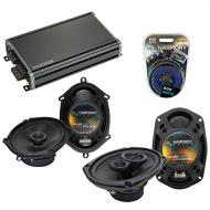 Compatible with Mazda MPV Van 00-06 OEM Speaker Replacement Harmony R68 R69 & CXA360.4 Amp