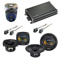 Compatible with Toyota Van 1984-1990 Factory Speaker Replacement Harmony R4 R65 & CXA360.4 Amp