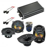 Compatible with Cadillac Fleetwood 93-96 OEM Speaker Replacement Harmony R5 R69 & CXA360.4 Amp