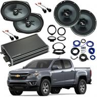 Compatible with Chevrolet Colorado 2015-2018 Premium Speaker Replacement Package C65 C69 CXA360.4