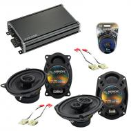 Compatible with Chevy Caprice 1991-1993 OEM Speaker Replacement Harmony R46 R69 & CXA360.4 Amp