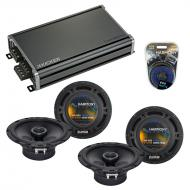 Compatible with BMW Z8 2001-2001 Factory Speaker Replacement Harmony R65 & CXA360.4 Amplifier