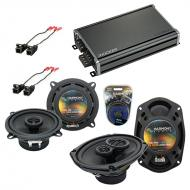 Compatible with Buick Skylark 1987-1995 Factory Speaker Replacement Harmony R5 R69 & CXA360.4...