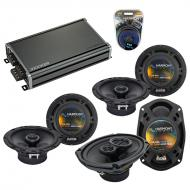 Compatible with Cadillac SRX 2004-2006 Factory Speaker Replacement Harmony R65 R69 & CXA360.4...