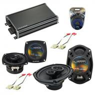 Compatible with Chevy Beretta 1988-1990 Factory Speaker Replacement Harmony R4 R69 & CXA360.4...