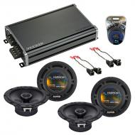 Compatible with Chevy Camaro 1993-2002 Factory Speaker Replacement Harmony (2) R65 & CXA360.4...