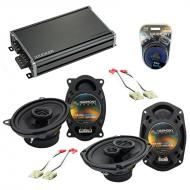 Compatible with Chevy Impala 1978-1990 Factory Speaker Replacement Harmony R46 R69 & CXA360.4...