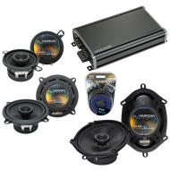 Compatible with Dodge Aries 1981-1983 Factory Speaker Replacement Harmony Speakers & CXA360.4...