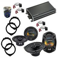 Compatible with Chevy HHR 2006-2012 OEM Speaker Replacement Harmony R65 R69 & CXA360.4 Amp