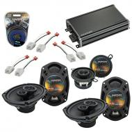 Compatible with Dodge Magnum 2005-2007 Factory Speaker Replacement Harmony R69 R35 & CXA360.4...