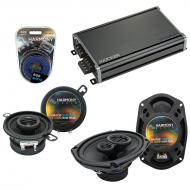 Compatible with Dodge Mirada 1979-1982 Factory Speaker Replacement Harmony R35 R69 & CXA360.4...
