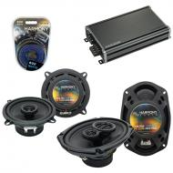 Compatible with Eagle Premier 1988-1992 Factory Speaker Replacement Harmony R5 R69 & CXA360.4...