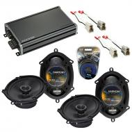 Compatible with Ford Contour 1995-2000 Factory Speaker Replacement Harmony (2) R68 & CXA360.4...